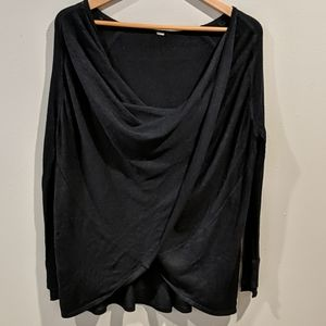 Lululemon Drape front pullover Sweater